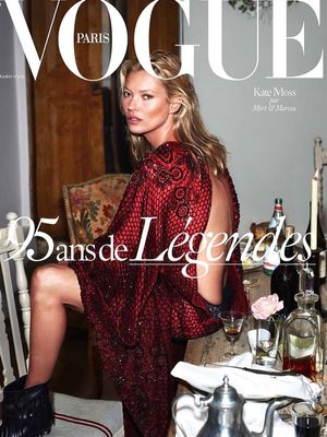 Vogue Paris Celebrates 95 Years With 4 Supermodel Covers