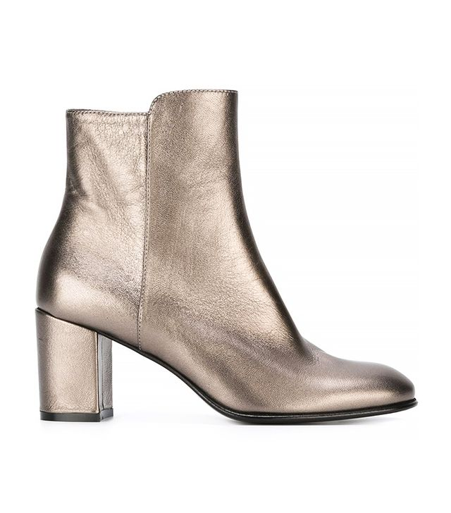 Jean-Michel Cazabat Chunky Heel Ankle Boots