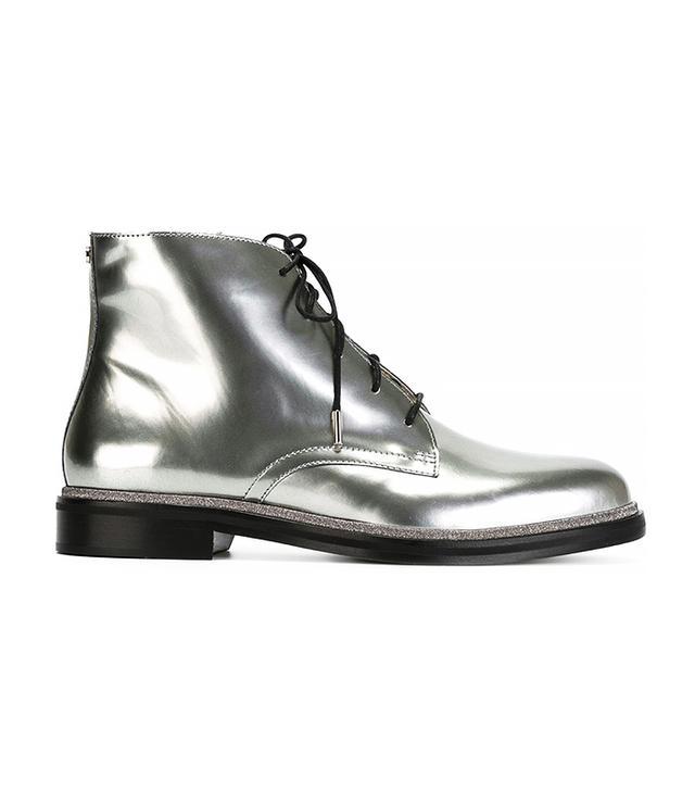 Jimmy Choo Burke Mirror Metallic Boots