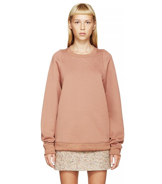 Acne Studios Clay Pink Albina Sweatshirt