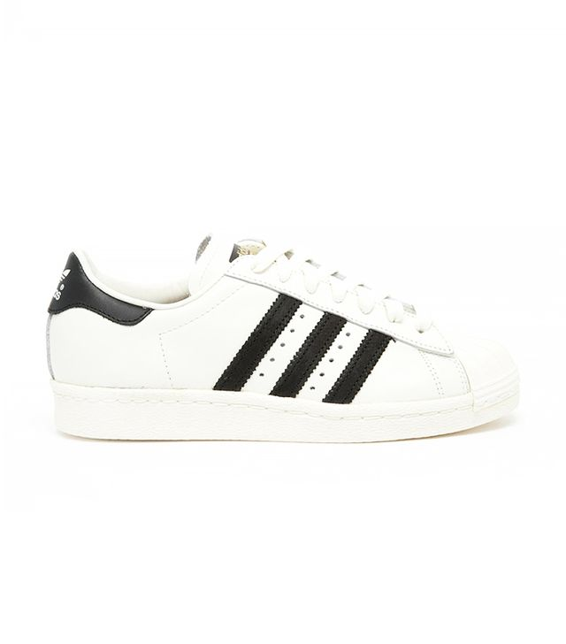 Adidas Originals Superstar 80's Deluxe White & Black Trainers