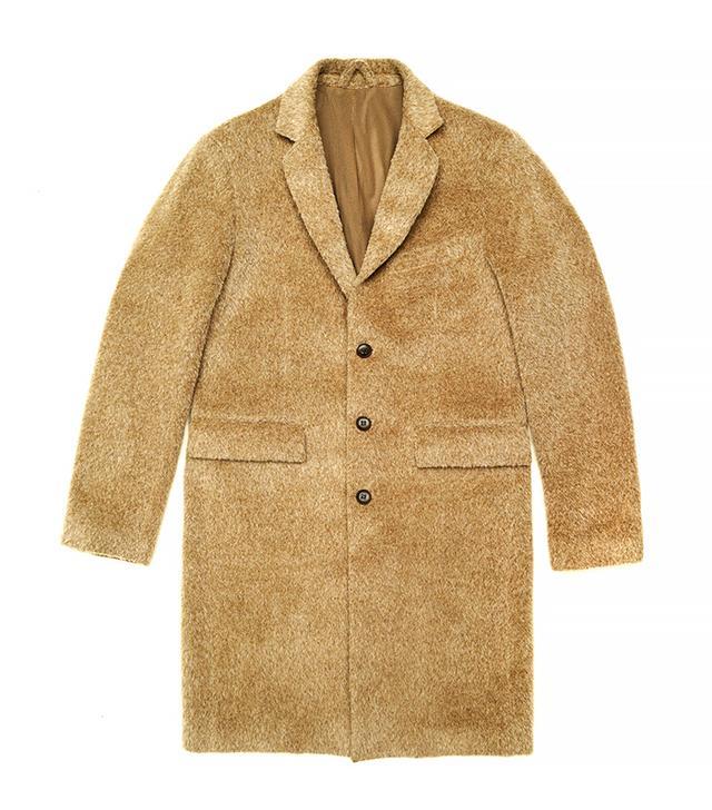 Martin Asbjorn Oversized Camel Coat