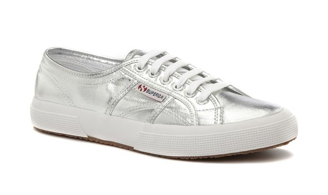 Binx for Superga 2750 Cotmetu Sneakers in Silver