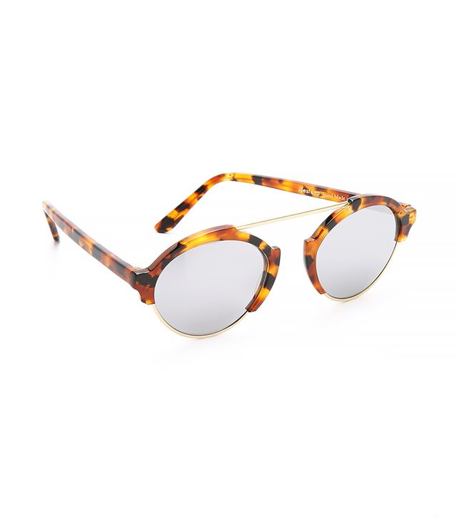 Illesteva Milan Mirrored Sunglasses