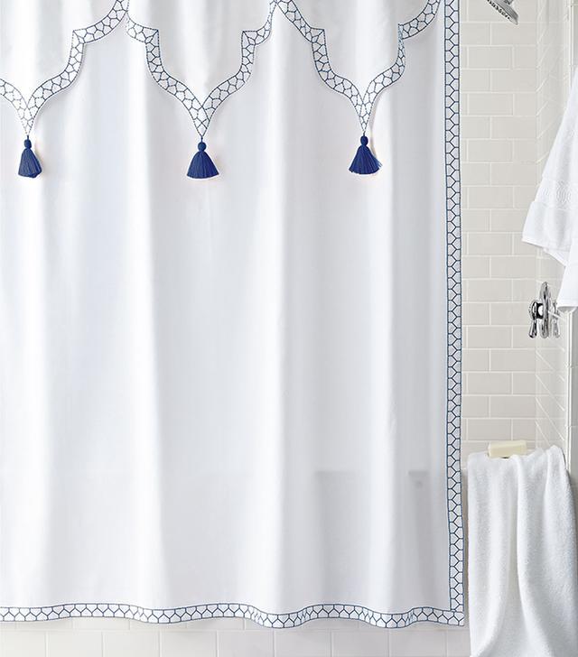 John Robshaw Ishwar Shower Curtain