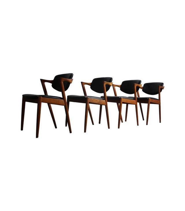 Kai Kristiansen Teak Chairs