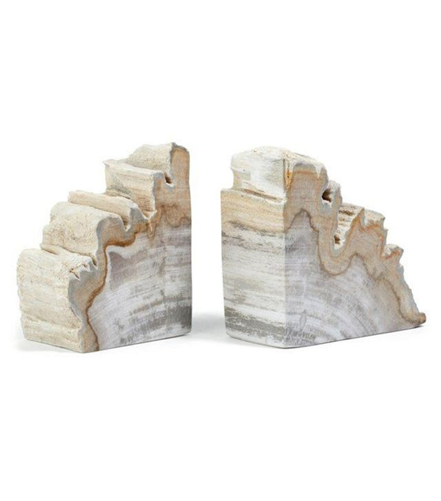 Philmore USA Petrified Wood Bookends