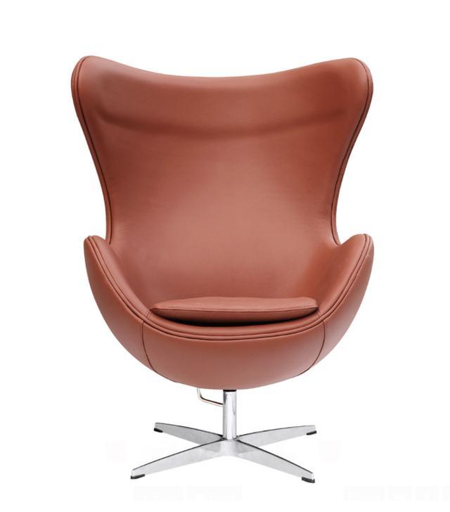 Lemoderno Egg Chair In Leather er