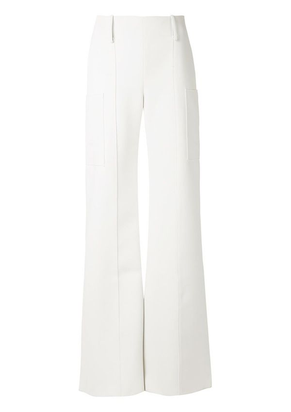 Hellessy High Waisted Flared Trousers