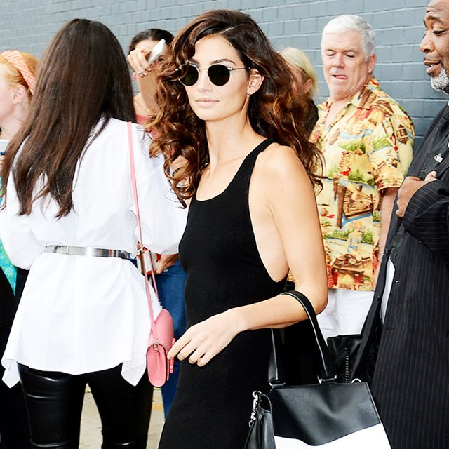 How to Re-Create Lily Aldridge's NYFW Outfit This Weekend