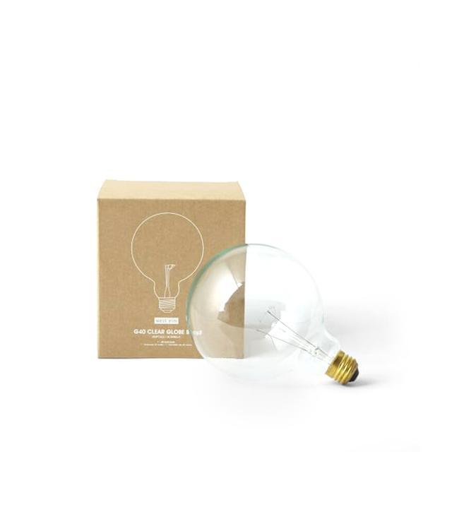West Elm Globe Bulb