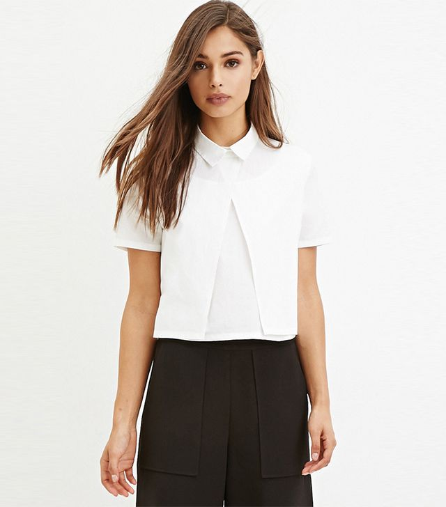 Forever 21 Layered Boxy Top