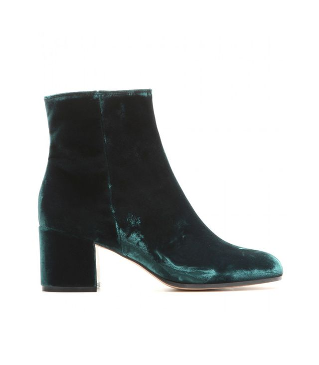 Gianvito Rossi MyTheresa.com Exclusive Velvet Ankle Boots