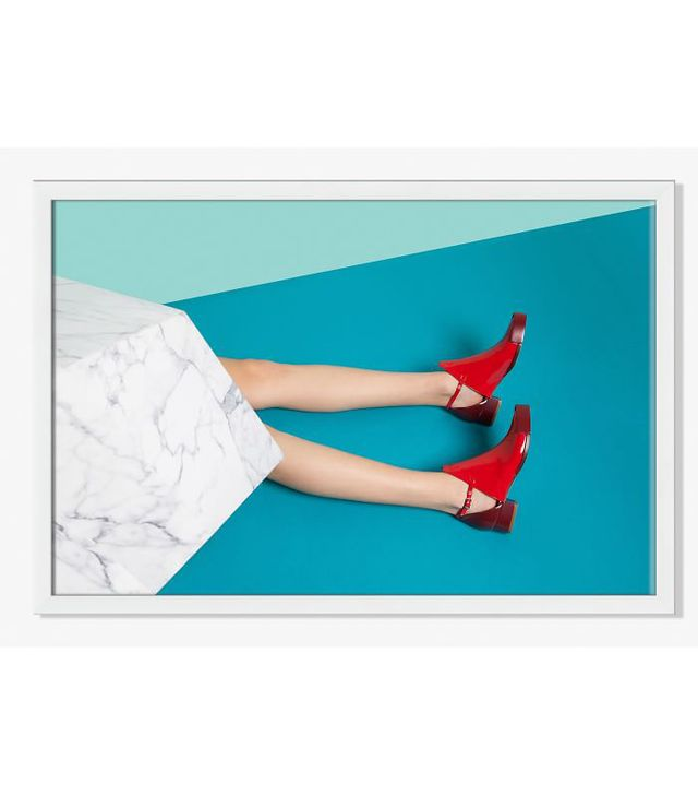 Offset for West Elm Red Shoes by Carmen Mitrotta