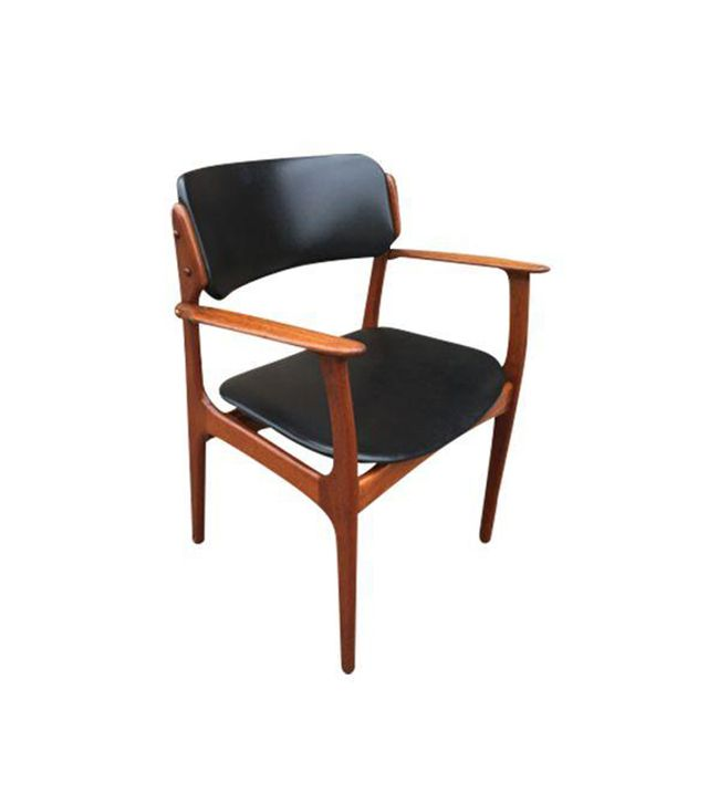 Chairish Danish Mid-Century Easy Chair