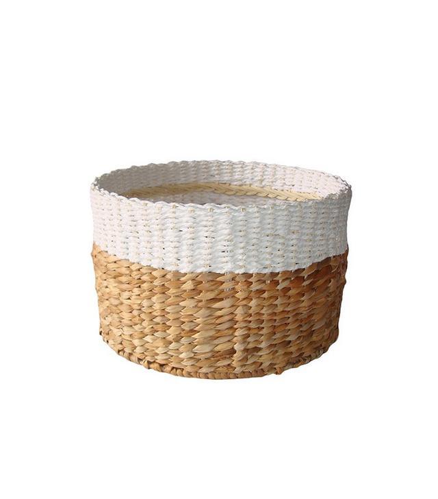 Target White & Natural Woven Basket