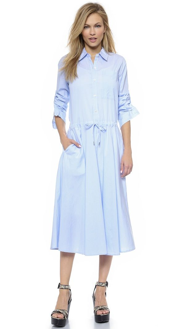 DKNY Pure DKNY Shirtdress