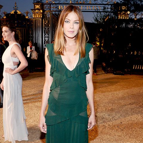 Michelle Monaghan Wearing Emerald Green