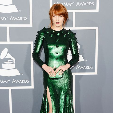Florence Wearing Emerald Green