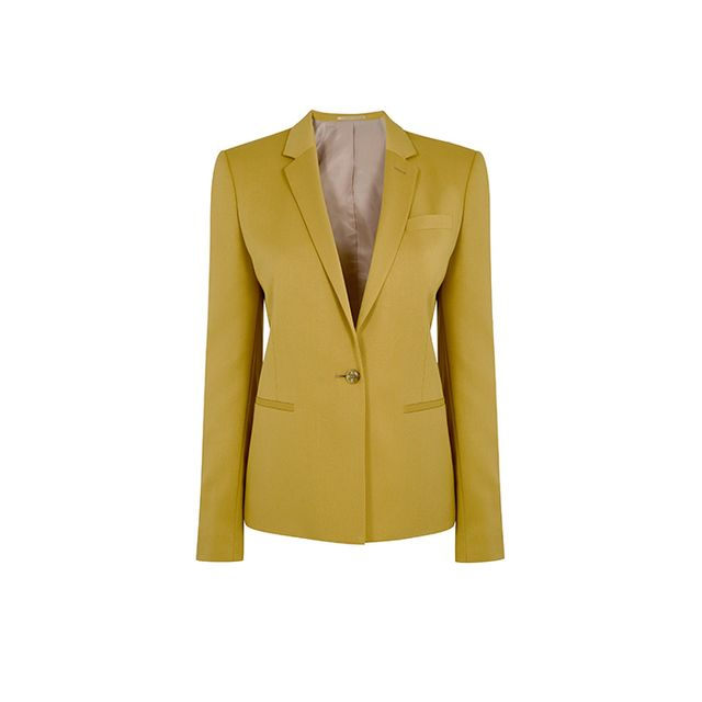 Topshop Fitted Suit Blazer