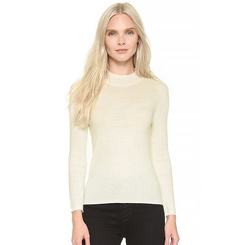 Alexa Chung x AG England Sweater in Vintage White