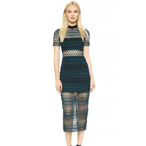 Column Midi Dress