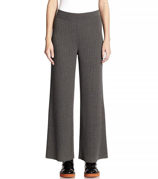 Stella McCartney Refined Rib Knit Trousers