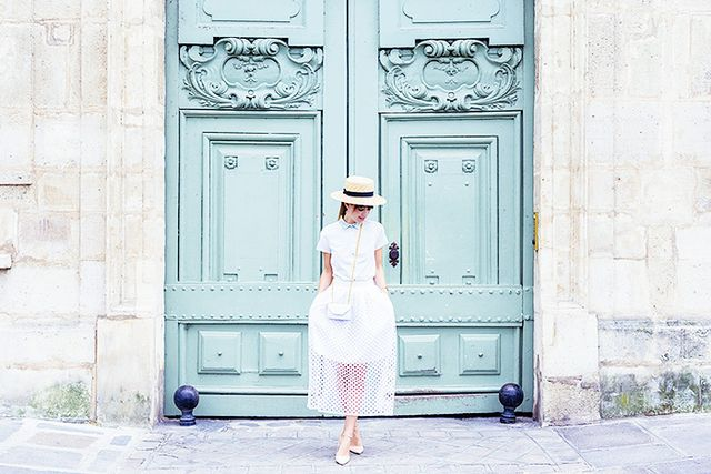Colourful doors on Ile Saint-Louis