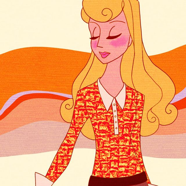 See the Disney Princesses Rocking the '70s Trend