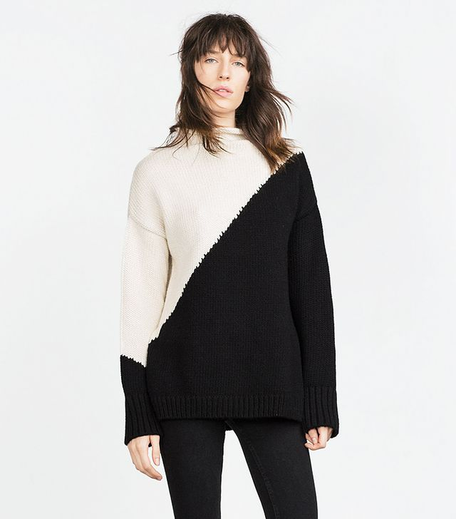 Zara Block Colour Sweater