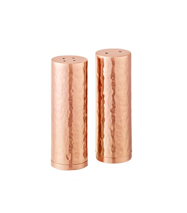 Williams-Sonoma Hammered Copper Salt and Pepper Shakers