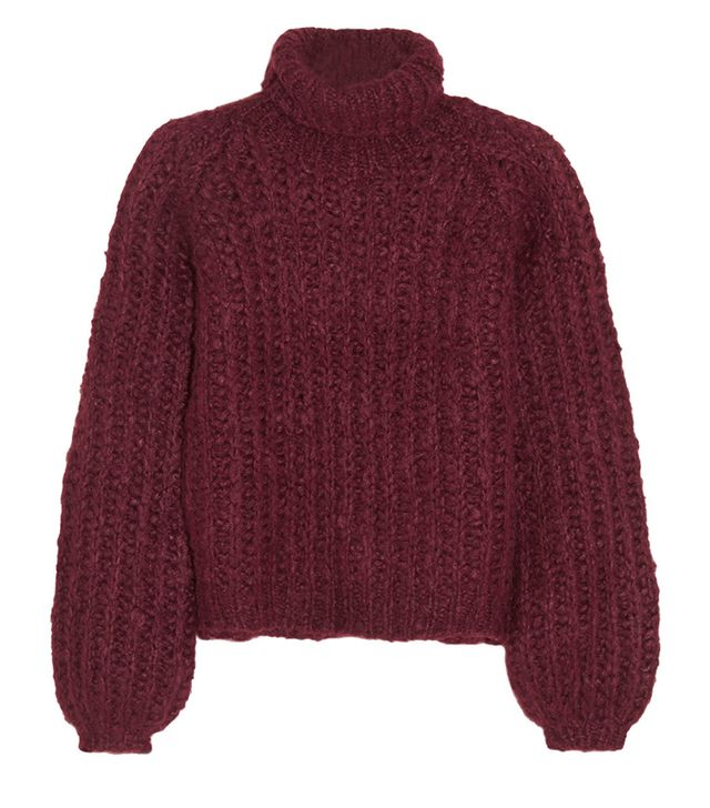 Chloé Silk, Mohair and Wool-Blend Turtleneck