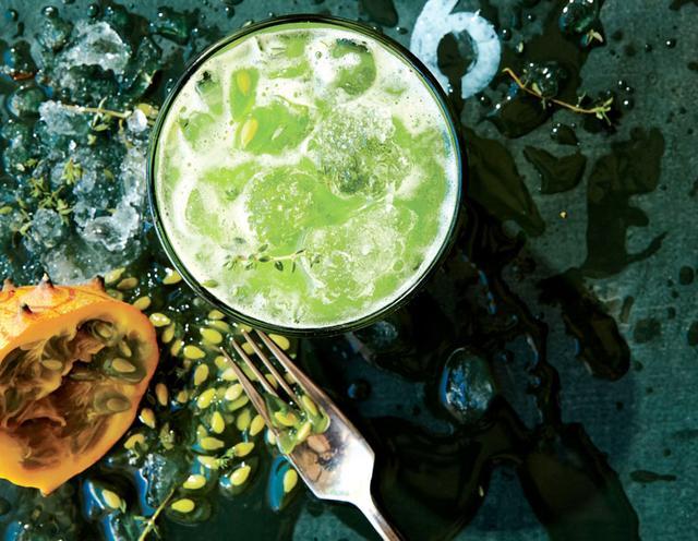 Green Juice With Baobab Powder