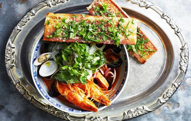 Lemongrass-Seafood Stew
