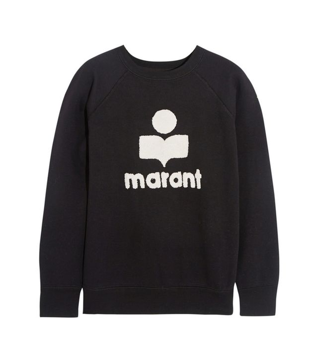 Étoile Isabel Marant Cody Terry-Embroidered Sweatshirt