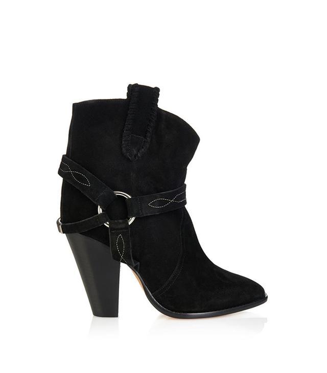 Étoile Isabel Marant Rawson Suede Ankle Boots