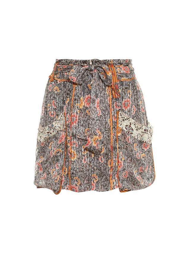 Isabel Marant Ariana Patch-Pocket Skirt
