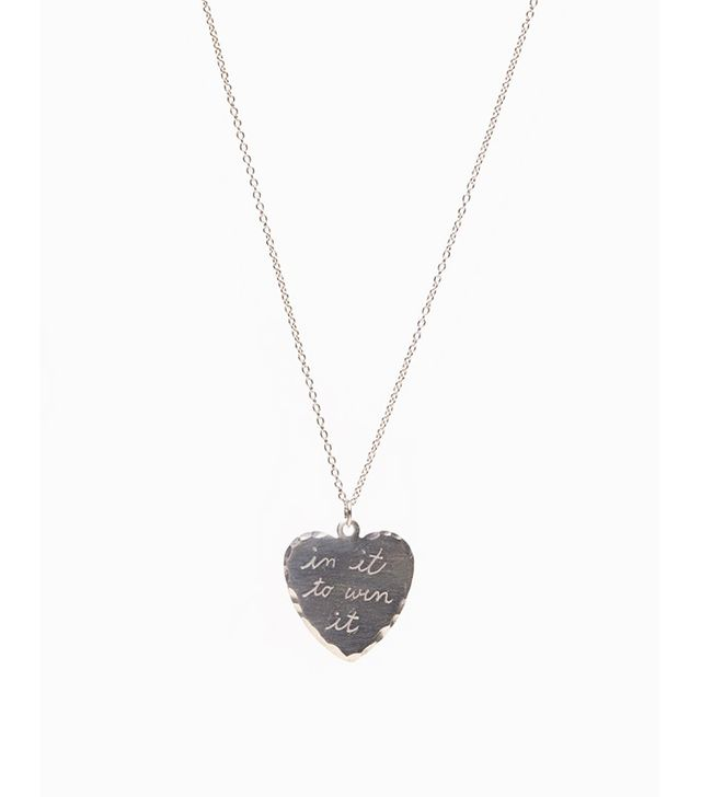 In God We Trust In It To Win It Necklace