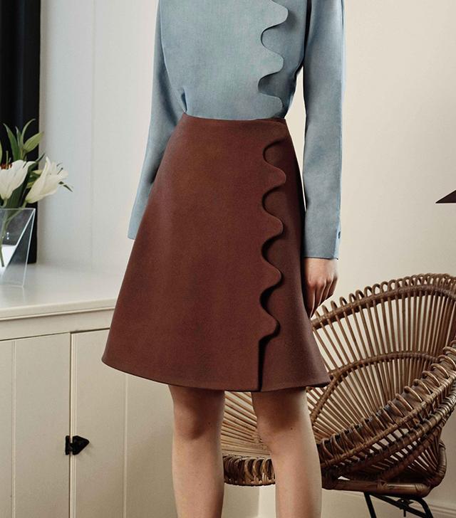 Trademark Scallop Skirt