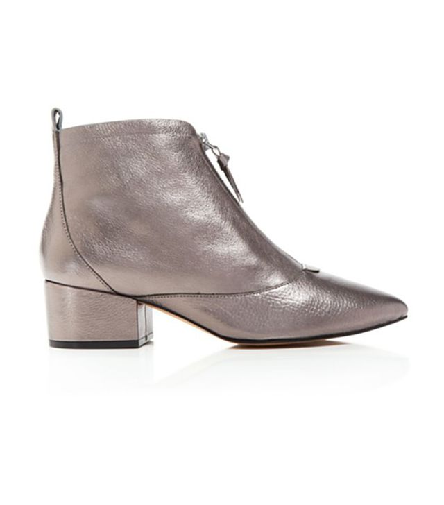French Connection Robrey Metallic Booties