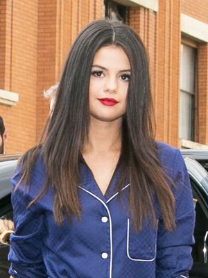 Selena Gomez Wore Legit Pajamas out in Paris