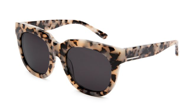 Mikoh JFK Leopard Shark Sunglasses