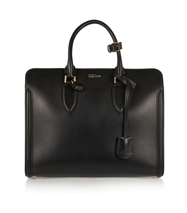 Alexander McQueen Heroine Leather Tote