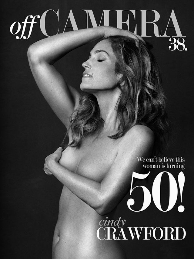 Cindy Crawford Stuns on Revealing New Cover