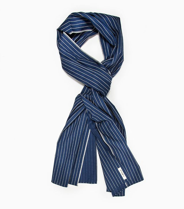 The Hill-Side Selvedge Indigo Wabash Scarf