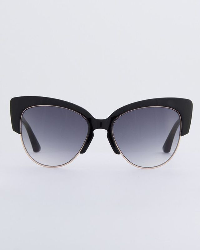 Sonix Dafni Black Sunglasses