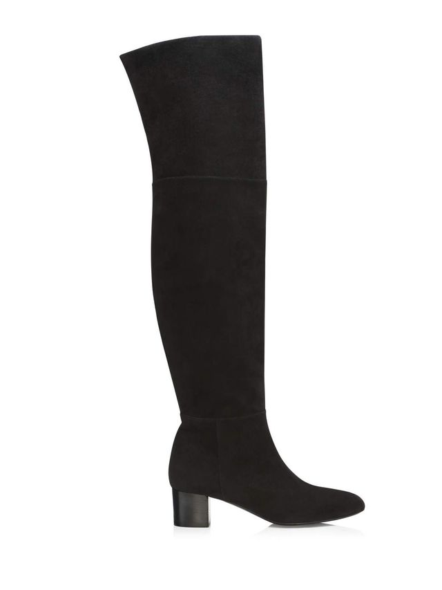 Tom Ford Over-the-Knee Block Heel Boot