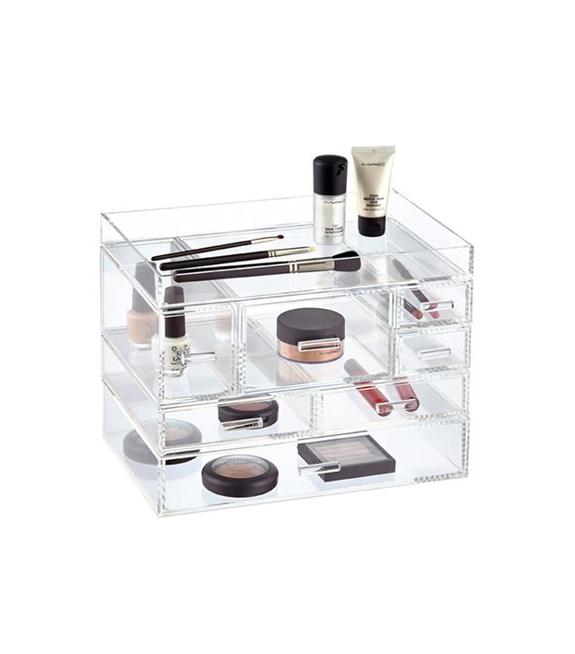 Container Store Luxe Acrylic Modular System