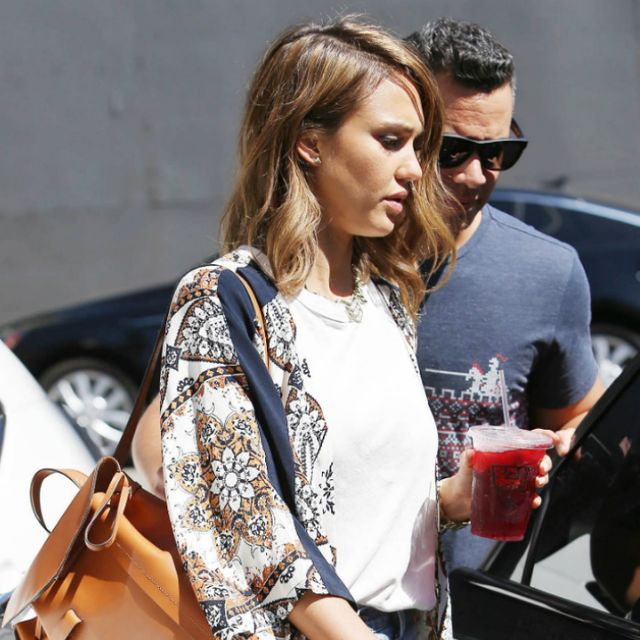 Meet the Bag Jessica Alba Is Currently Obsessed With