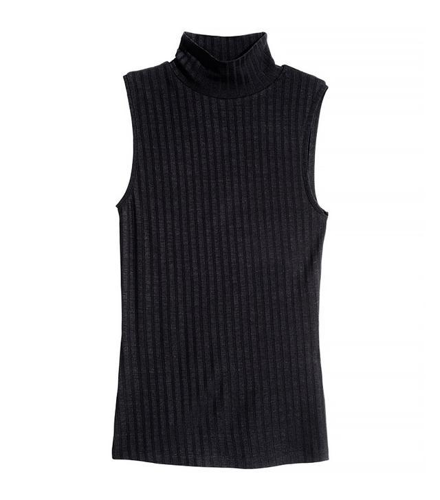 H&M Sleeveless Turtleneck